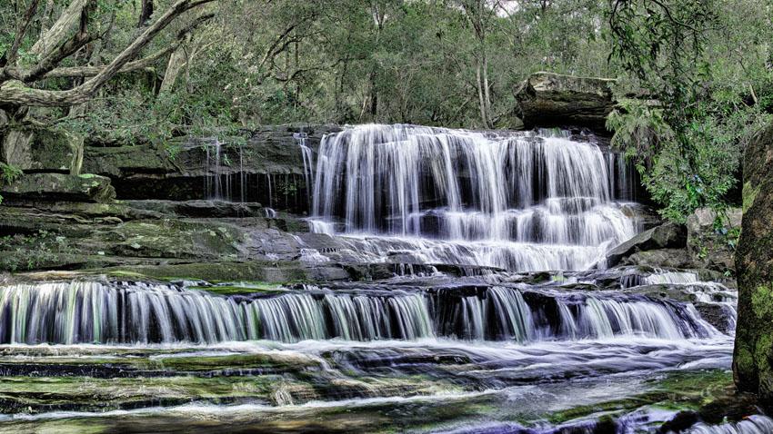 Фотообои водопад каскад wallpapers фотообои